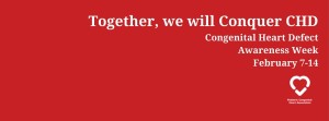 Together, we willConquer CHD