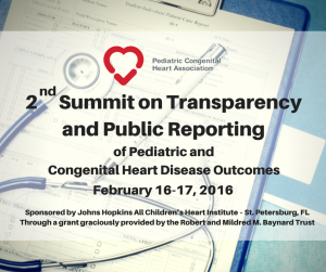 2nd Summit on Transparency and Public Reporting
