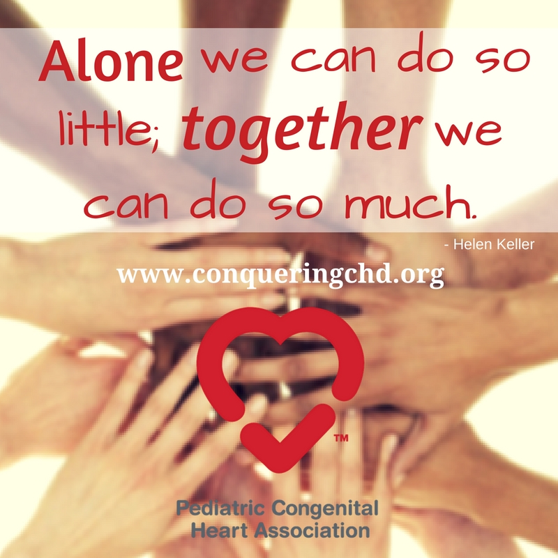 Alone We Can Do So Little We Can Do So Much Pcha